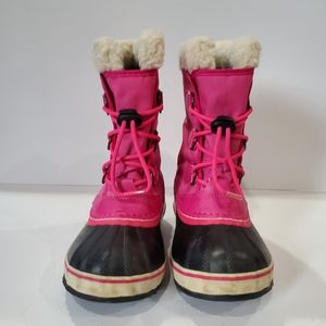 Sorel Shoes - Sorel  kids pac boot size 3 pink